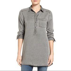 Nordstrom brand Caslon popover collar tunic